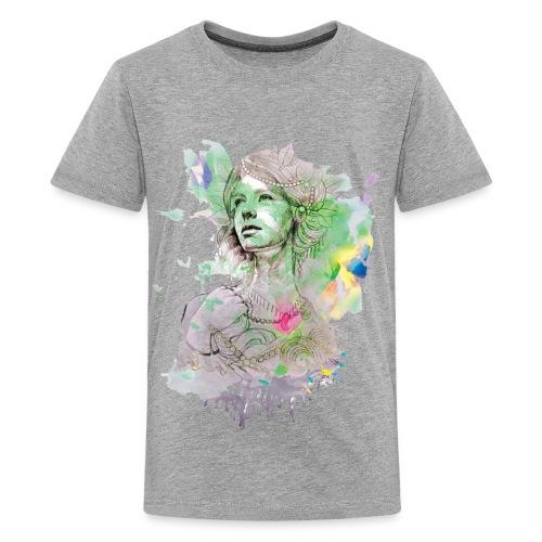women in multicolor - Kids' Premium T-Shirt