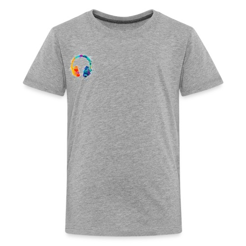 Colourful headset - Kids' Premium T-Shirt