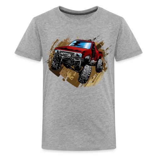 Muddy Red Truck - Kids' Premium T-Shirt