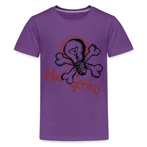 Mad Genius - On Light - Kids' Premium T-Shirt