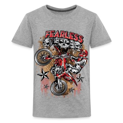 Fearless Motocross Honda - Kids' Premium T-Shirt