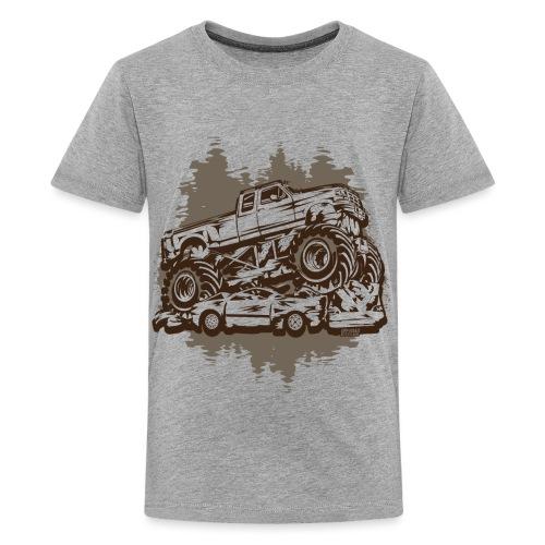 Monster Truck Grungy - Kids' Premium T-Shirt