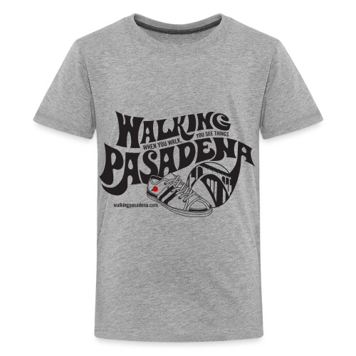 Walking Pasadena for light color shirts - Kids' Premium T-Shirt