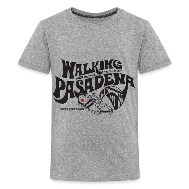 Walking Pasadena for light color shirts