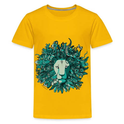 Blue Lion - Kids' Premium T-Shirt