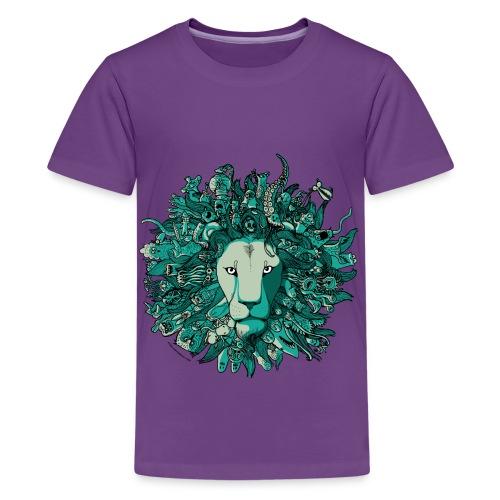 Blue Lion - Kids' Premium T-Shirt