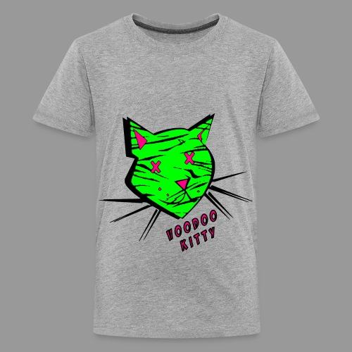 Voodoo Kitty - Kids' Premium T-Shirt