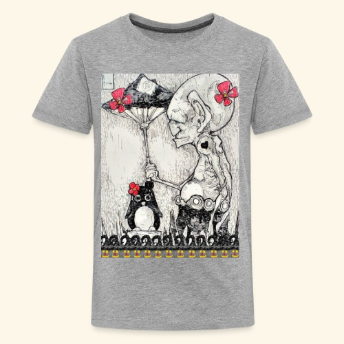 Peace with Halloween - Kids' Premium T-Shirt
