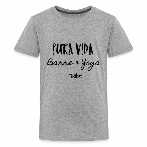 Pura Vida Barre & Yoga - Kids' Premium T-Shirt