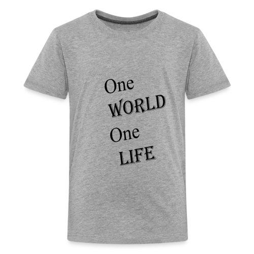 one world - Kids' Premium T-Shirt