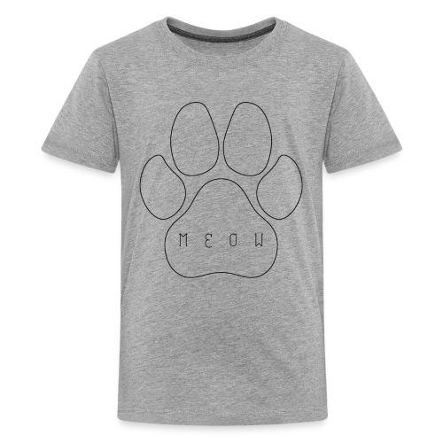 Meow paw - Kids' Premium T-Shirt