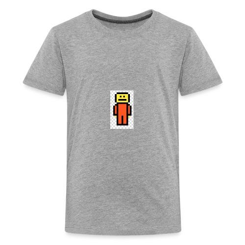 Pixel man[prison outfit] - Kids' Premium T-Shirt
