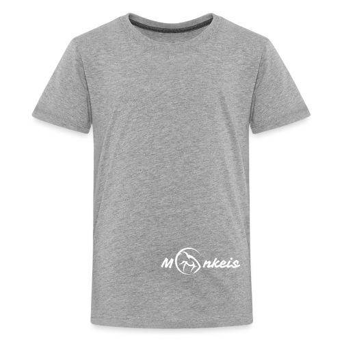 fitness logo white - Kids' Premium T-Shirt