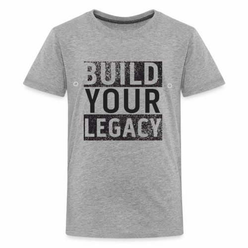 Build Your Legacy - Tri-X - Kids' Premium T-Shirt