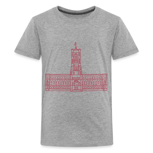 Red City Hall Berlin - Kids' Premium T-Shirt