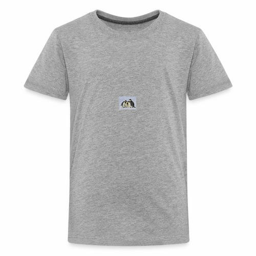 penguin fam - Kids' Premium T-Shirt