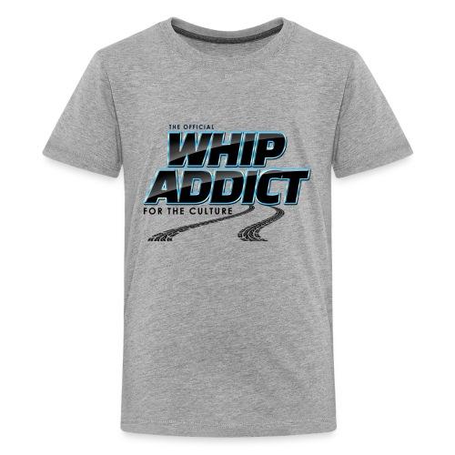 WhipAddict Black - Kids' Premium T-Shirt