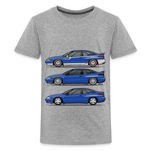 Subie Alcyone SVX Laguna Blue Pearl Trio - Kids' Premium T-Shirt