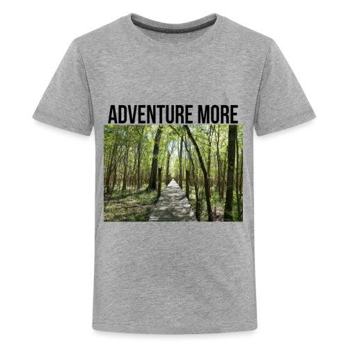 adventure more - Kids' Premium T-Shirt