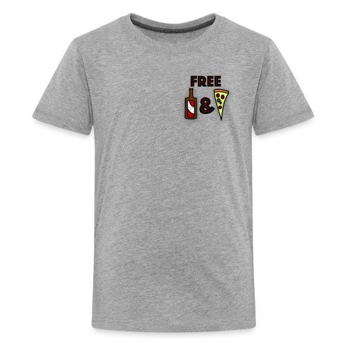 Free Beer and Pizza band logo - Kids' Premium T-Shirt