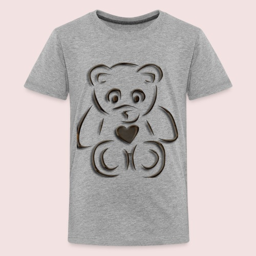 realistic teddy - Kids' Premium T-Shirt