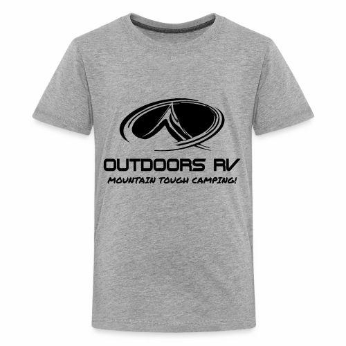Front Logo Only Outdoors RV - Kids' Premium T-Shirt