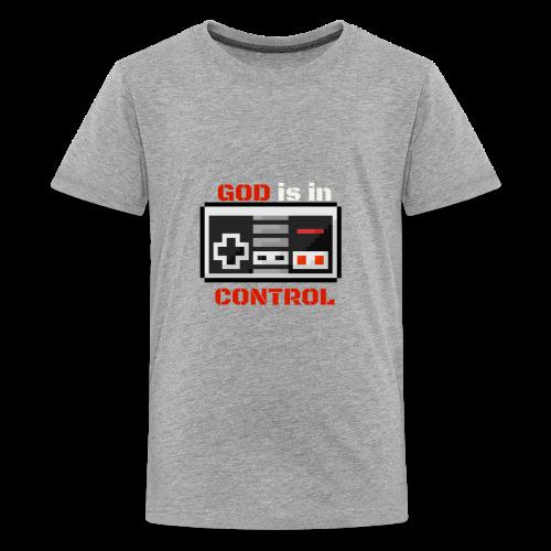 God is in Control Kidss Tee - Kids' Premium T-Shirt