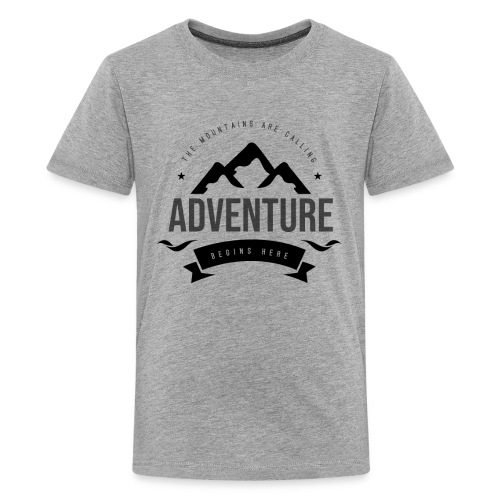The mountains are calling T-shirt - Kids' Premium T-Shirt