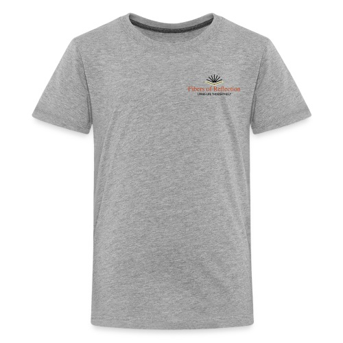 Fibers of Reflection - Kids' Premium T-Shirt