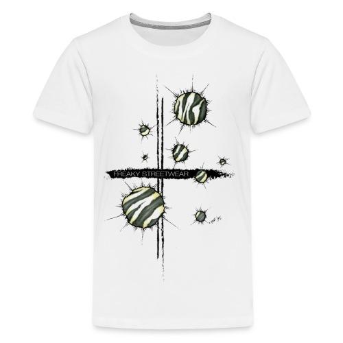 shots zebra - Kids' Premium T-Shirt