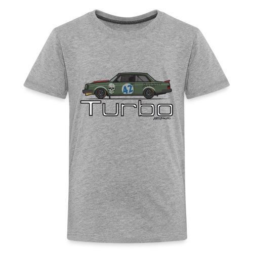 240 Turbo Track Car - Kids' Premium T-Shirt