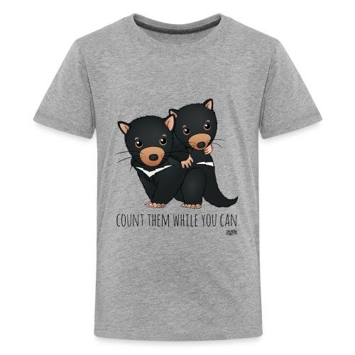snugglecoats_tasmaniandev - Kids' Premium T-Shirt