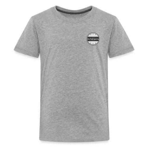 Sky Team gaming up in the corner tees - Kids' Premium T-Shirt