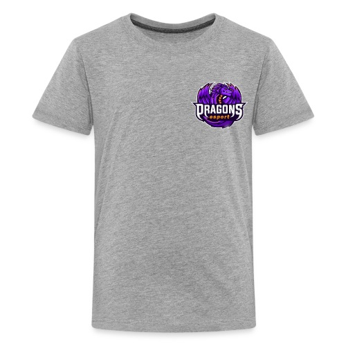 Clothing with the official logo of the DRG team - Kids' Premium T-Shirt