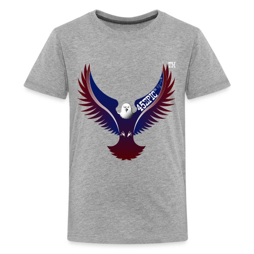 45EPIC EAGLE dx4/dt=ic Elliot McGucken Fine Art TM - Kids' Premium T-Shirt