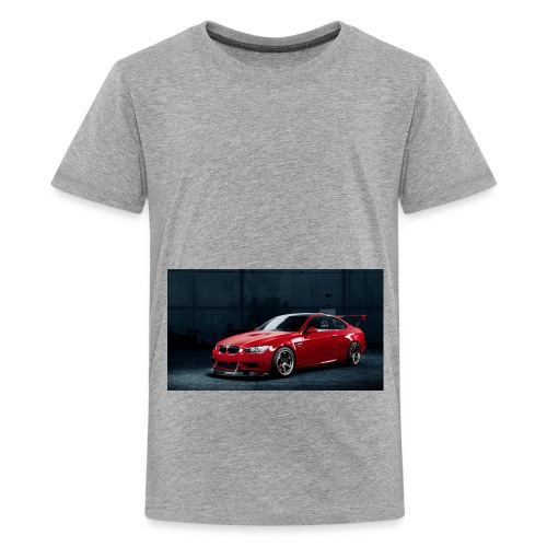 download m3 red best wallpaper images 75661 do - Kids' Premium T-Shirt