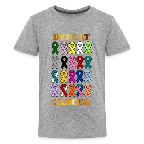DEFEAT CANCER - Kids' Premium T-Shirt