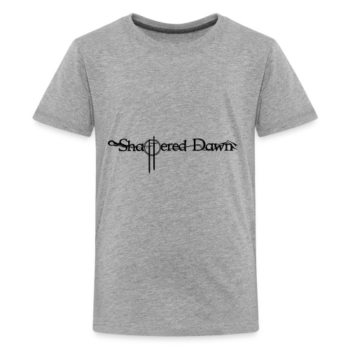 Shattered Dawn Black Logo - Kids' Premium T-Shirt