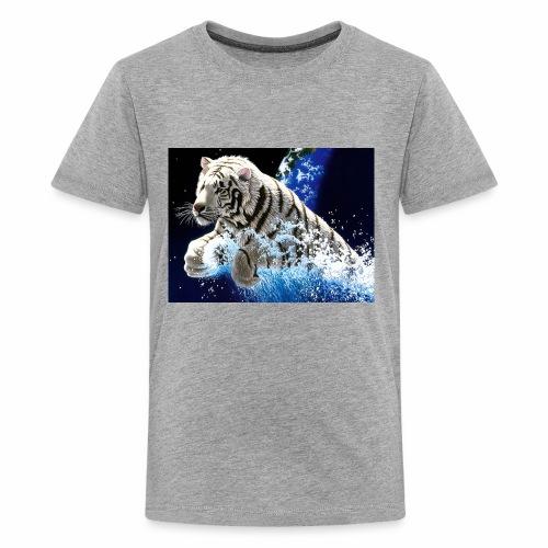 desktop year of the tiger images wallpaper - Kids' Premium T-Shirt