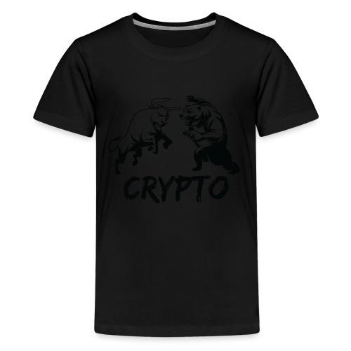 CryptoBattle Black - Kids' Premium T-Shirt