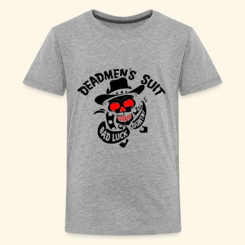 Deadmen's Suit Bad Luck#Skull - Kids' Premium T-Shirt