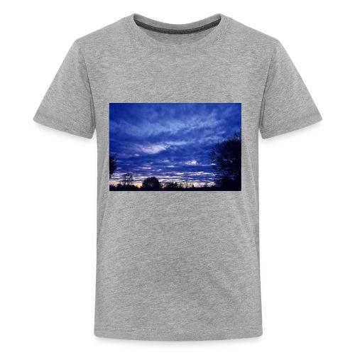 SunsetBlue - Kids' Premium T-Shirt