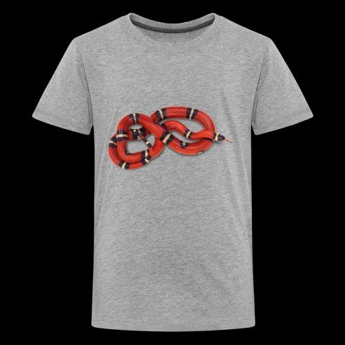 Red Snake - Kids' Premium T-Shirt
