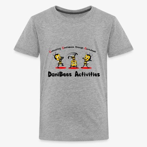DaniBees Cartwheel Red - Kids' Premium T-Shirt