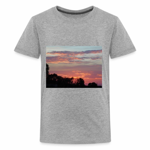 Sunset of Pastels - Kids' Premium T-Shirt