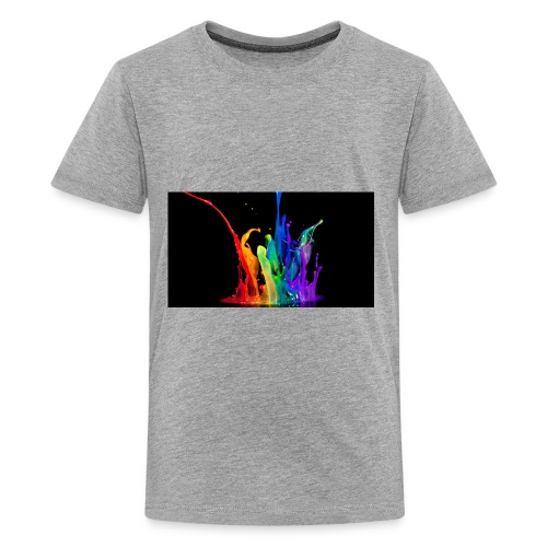 cool rainbow - Kids' Premium T-Shirt