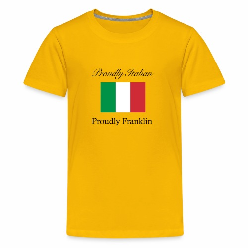 Proudly Italian, Proudly Franklin - Kids' Premium T-Shirt