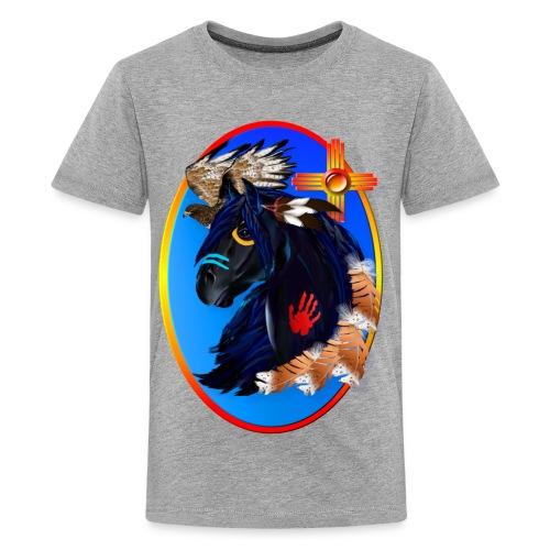 Black Stallion of Morning - Kids' Premium T-Shirt
