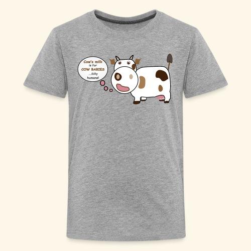 Smart Cow! - Kids' Premium T-Shirt