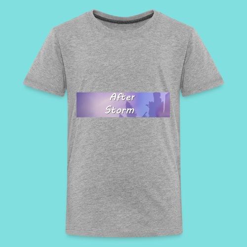 After Storm LOGO 2 - Kids' Premium T-Shirt
